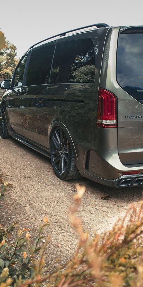Mercedes V-Class Van SVIPE Concave Wheels