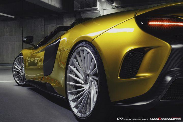 McLaren 675LT Supercar Concave Wheels