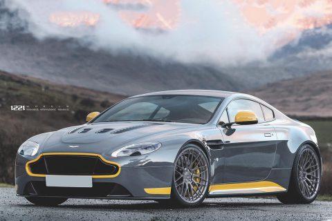 Aston Martin Vantage Custom Wheels