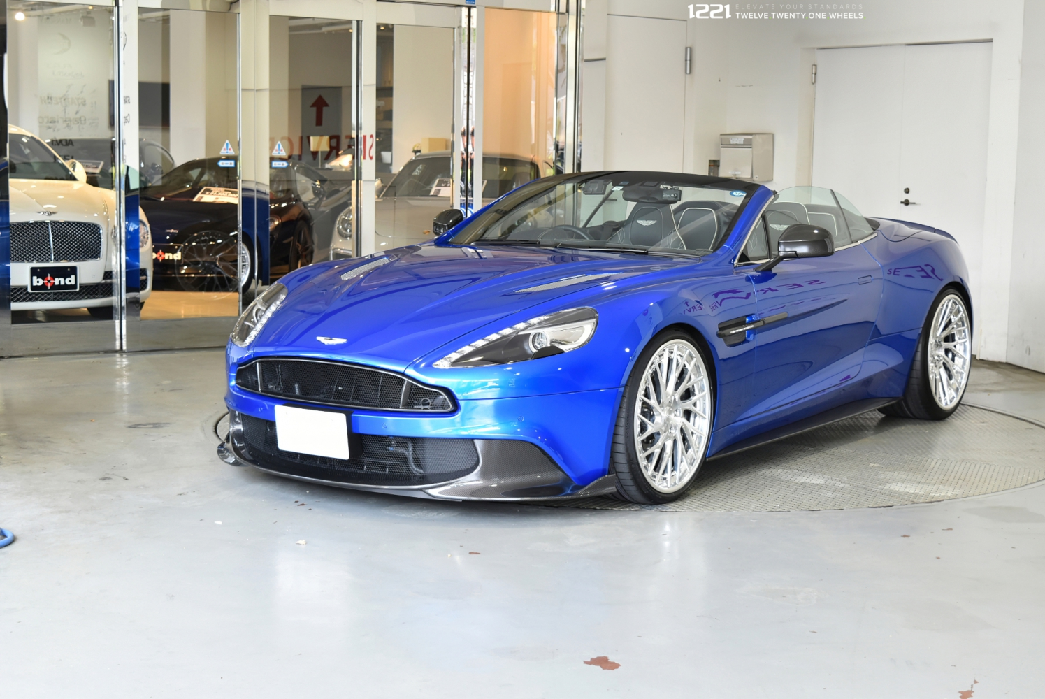 Aston Martin Vanquish S Forged Modular Concave Wheels