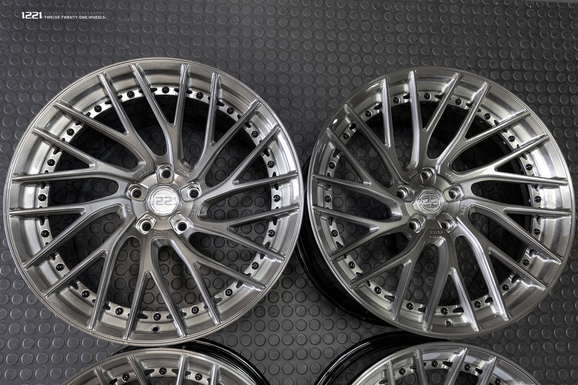 Rotational Concave Forged Wheels