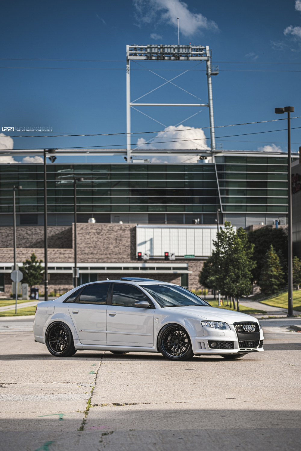 Audi RS4 Forged Modular Concave Wheels