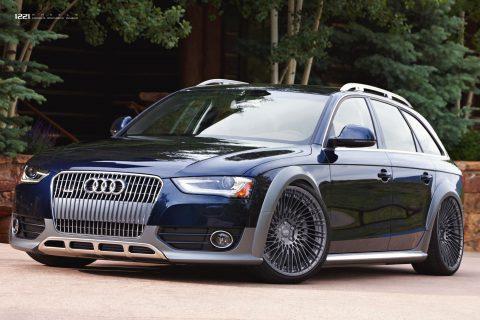 Audi A6 Quattro Allroad Custom Wheels