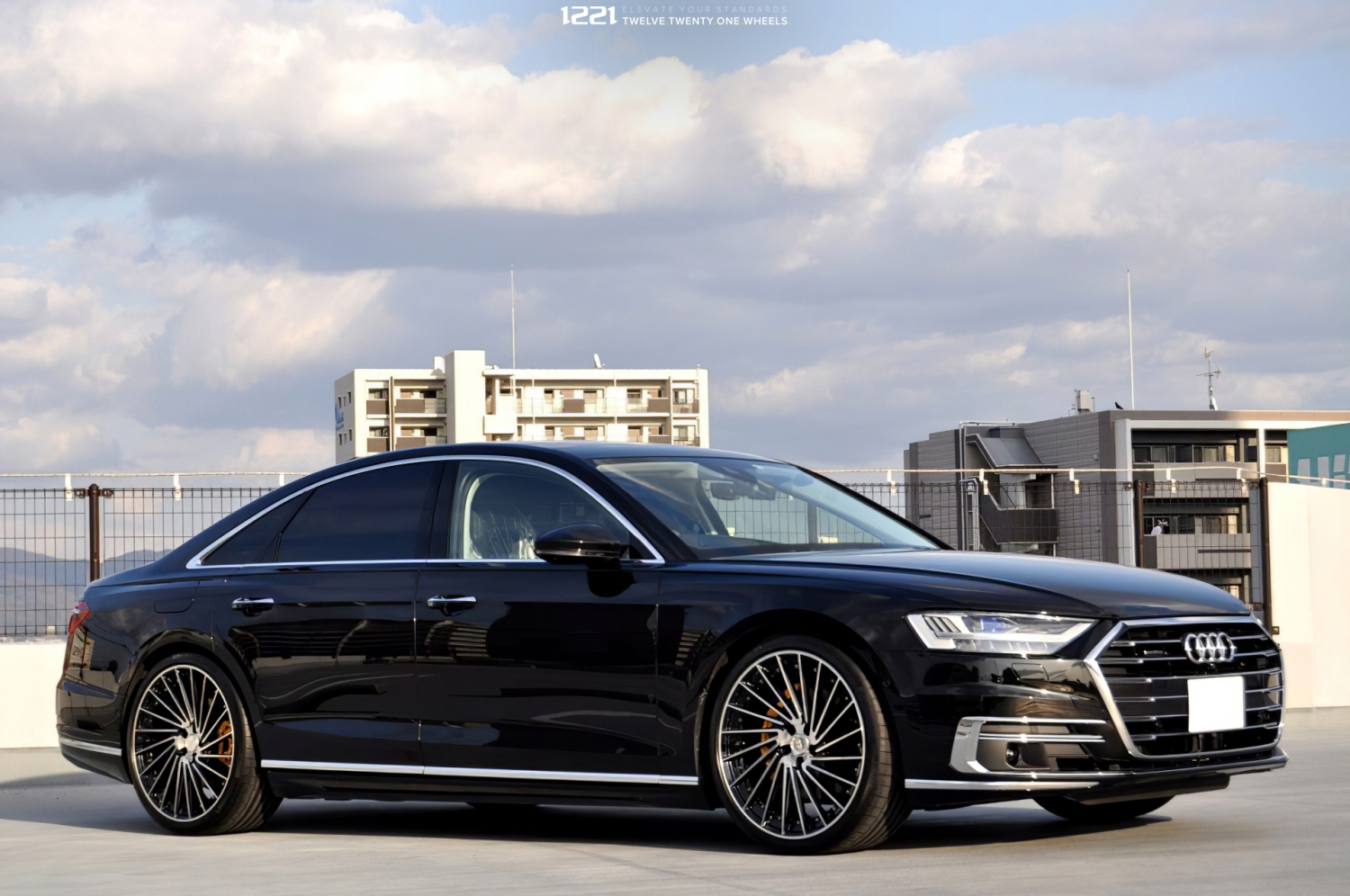 Audi A8 Forged Directional Two Tone Wheels