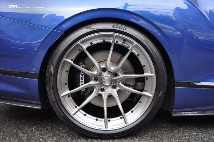 Bentley Continental GT Forged Concave Wheels