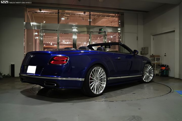 Bentley Continental GT Forged Modular Concave Wheels