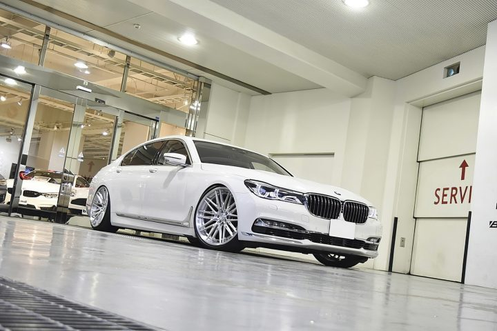 BMW 750Li Forged Modular Wheels