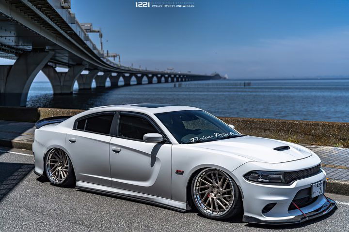 Dodge Charger Scat Pack Rotational Forged Wheels