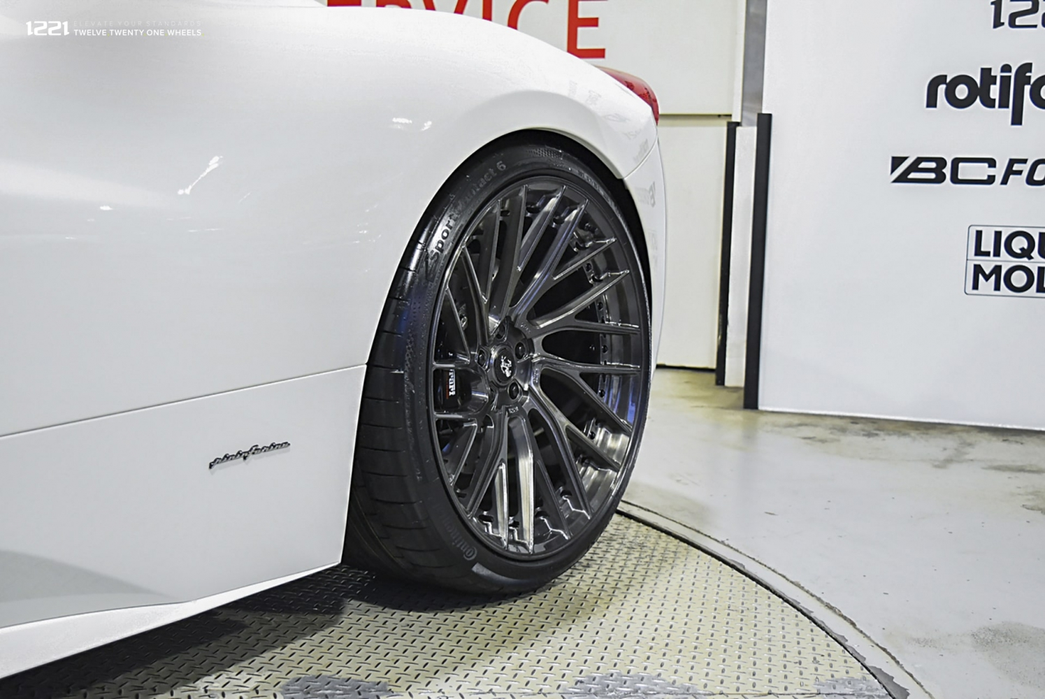 Concave forged lightweight wheels