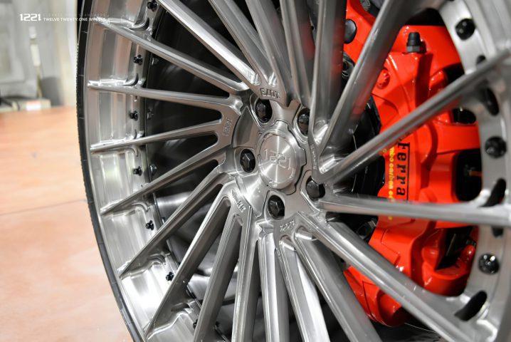 Ferrari 488 Super Hyper car Forged Concave Wheels