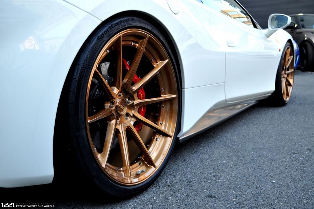 Ferrari 488 GTB Spyder Forged Modular Concave Wheels