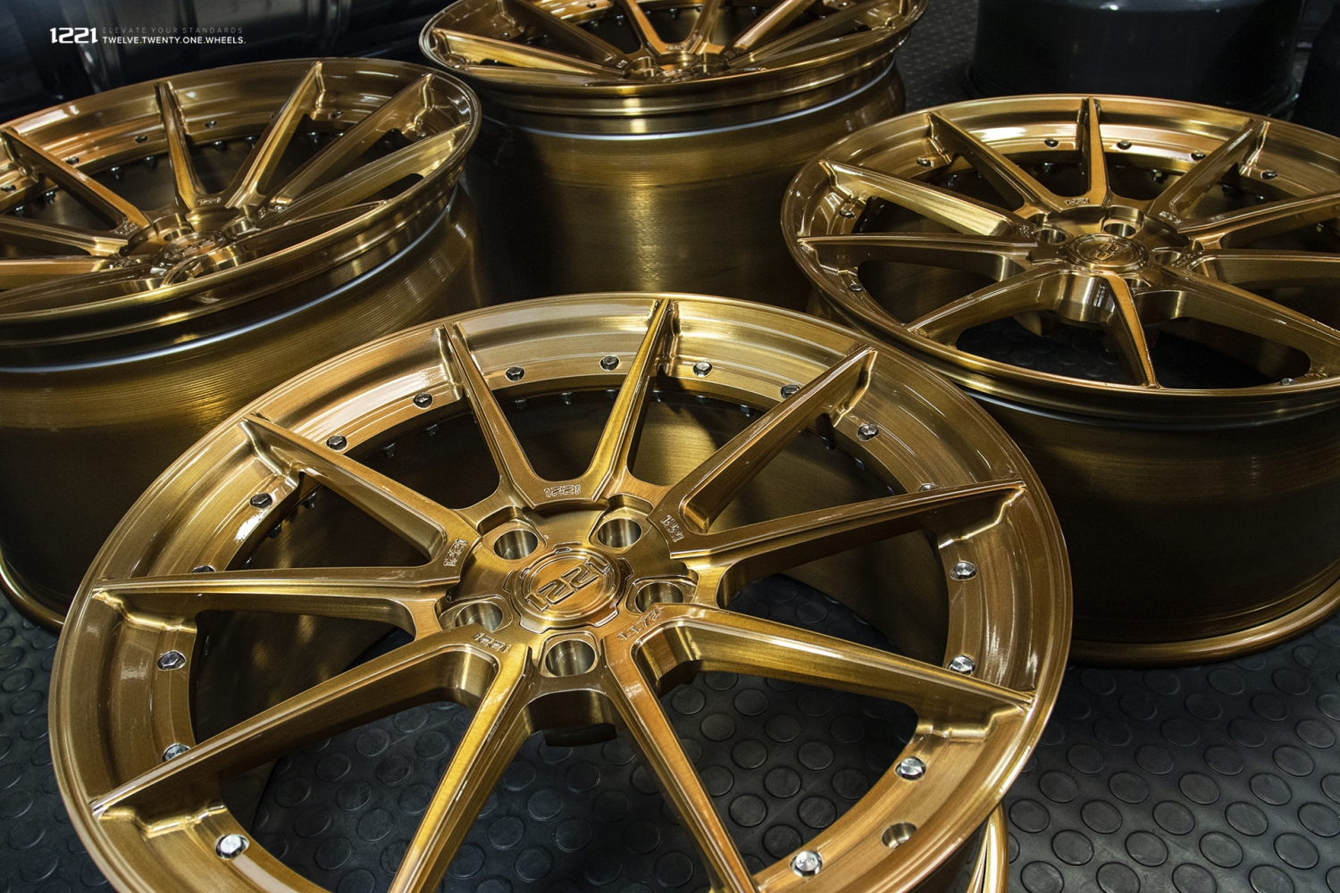 Forged Modular Concave Wheels