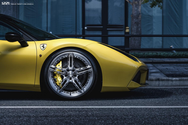 Ferrari 488 GTB Forged Wheels