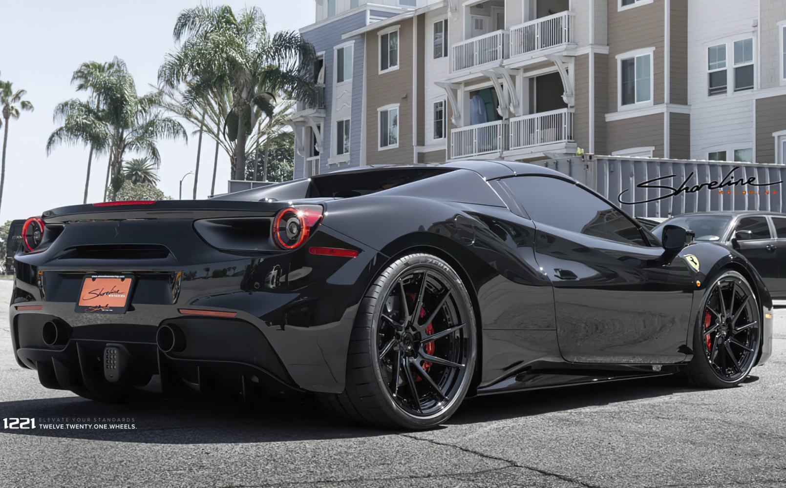 Ferrari 488 Spyder Rotational Forged Wheels