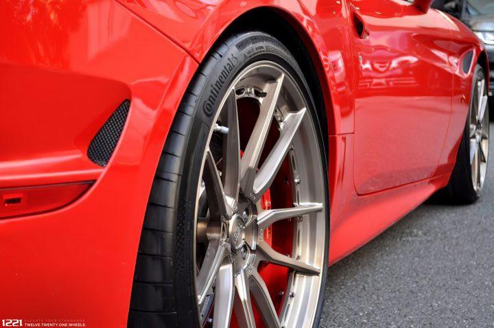 Ferrari California Forged Modular Concave Wheels