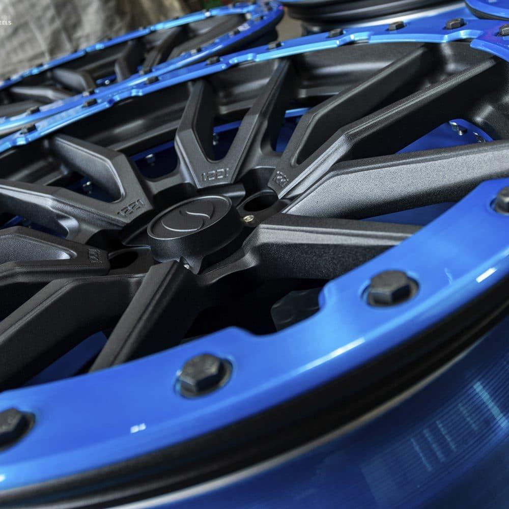 Truck Offroad Concave Beadlock Wheels