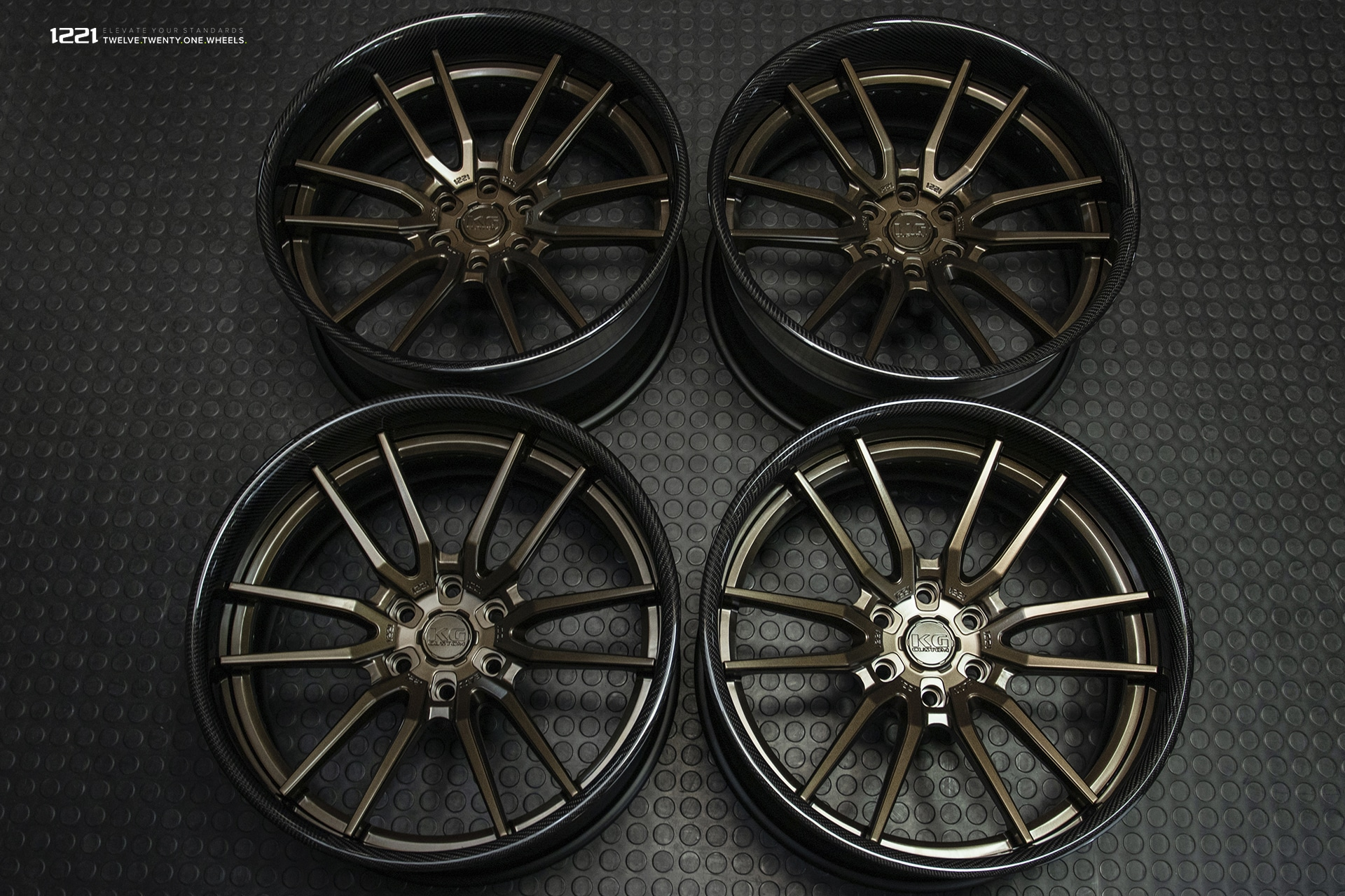 Forged Modular Concave Truck Wheels