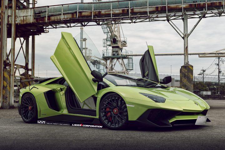 Lamborghini Aventador SV LP700 Centerlock