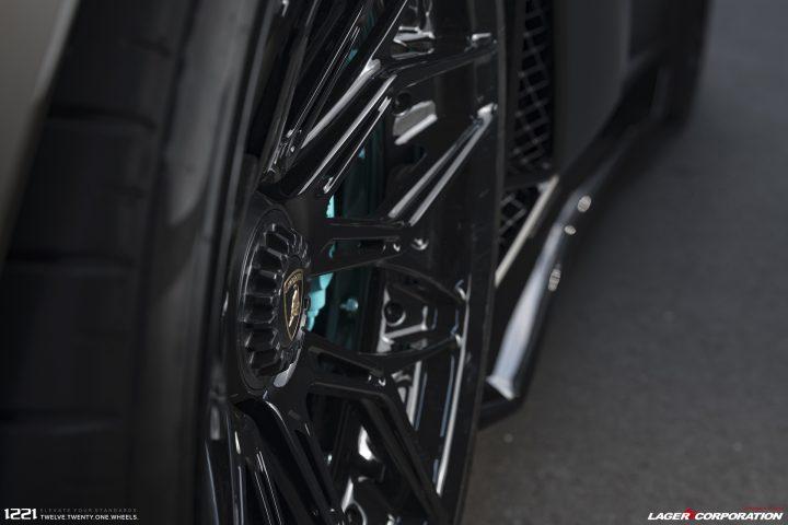 Lamborghini Aventador SVJ Forged Wheels