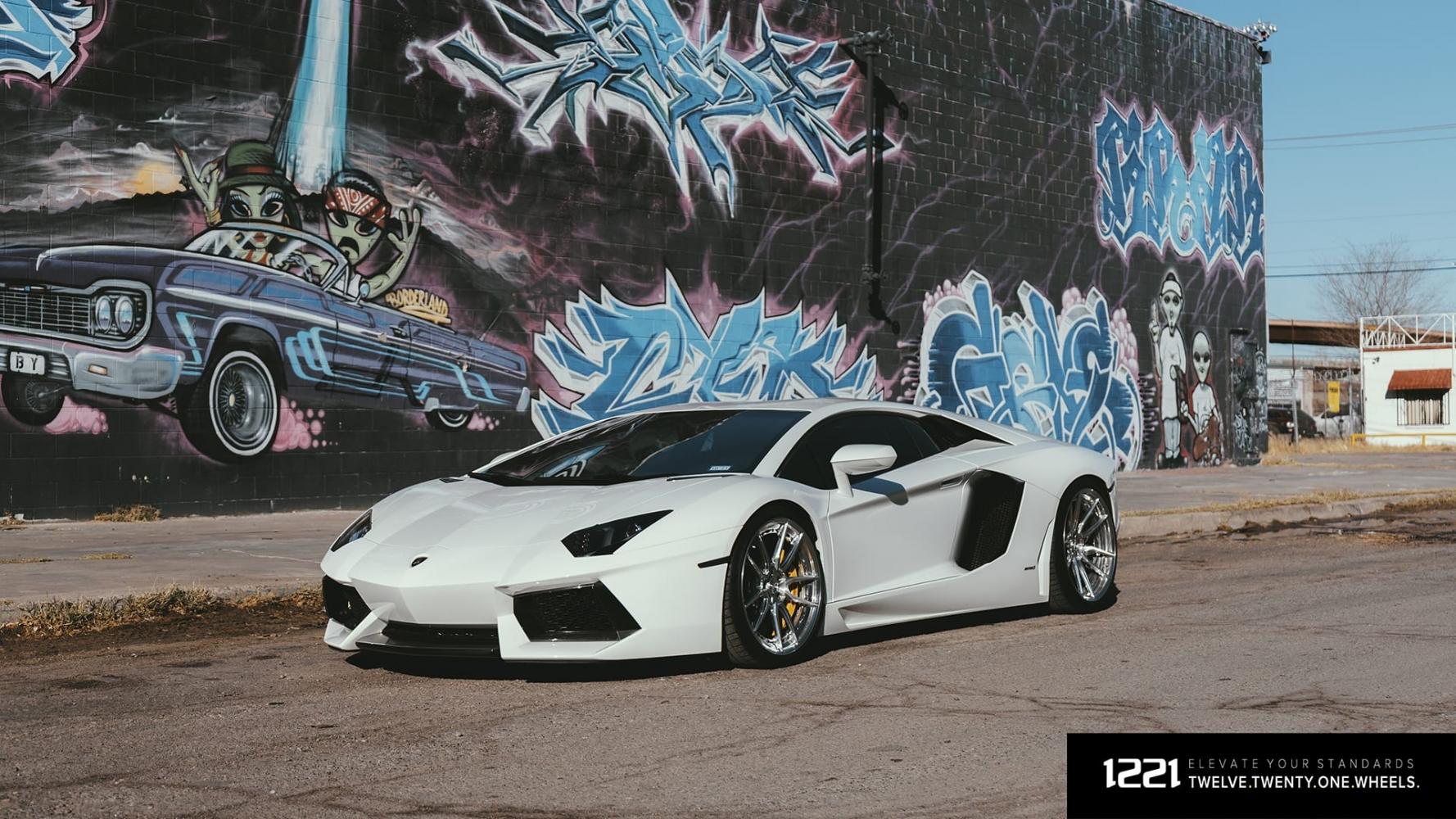 Lamborghini LP700 Forged Wheels