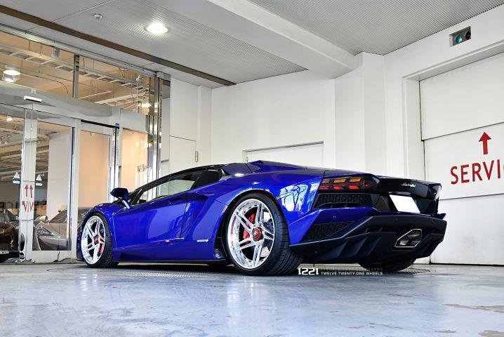 Lamborghini Aventador LP700 Forged Wheels