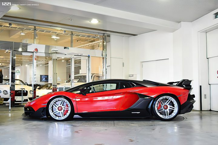 Lamborghini SVJ Forged Modular Wheels
