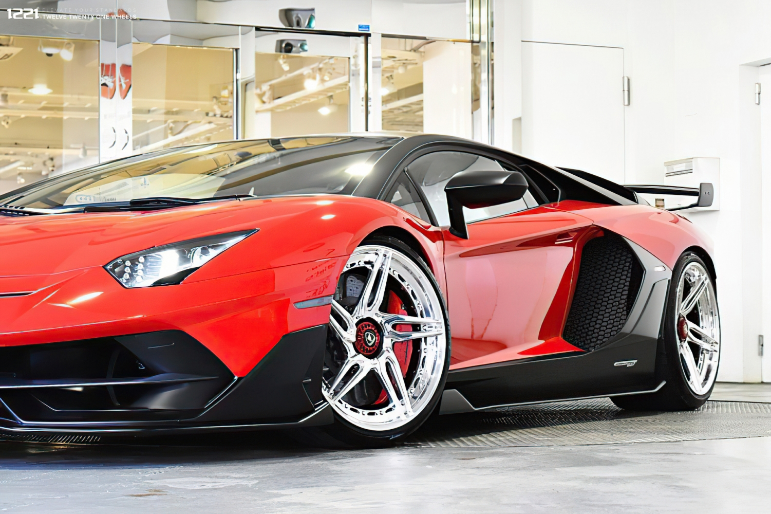 Lamborghini SVJ Forged Modular Wheels