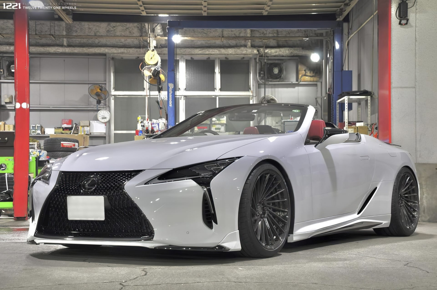 Lexus LC500 Convertible Forged Wheels