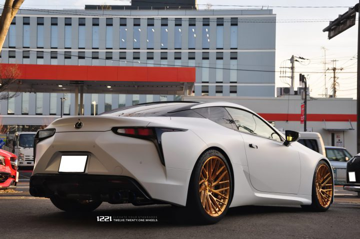 Lexus LC500 Forged Concave Wheels