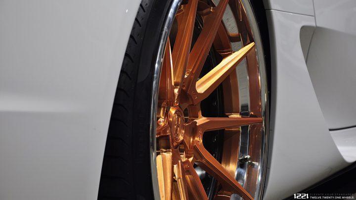 Lexus LFA Forged Modular Concave Wheels