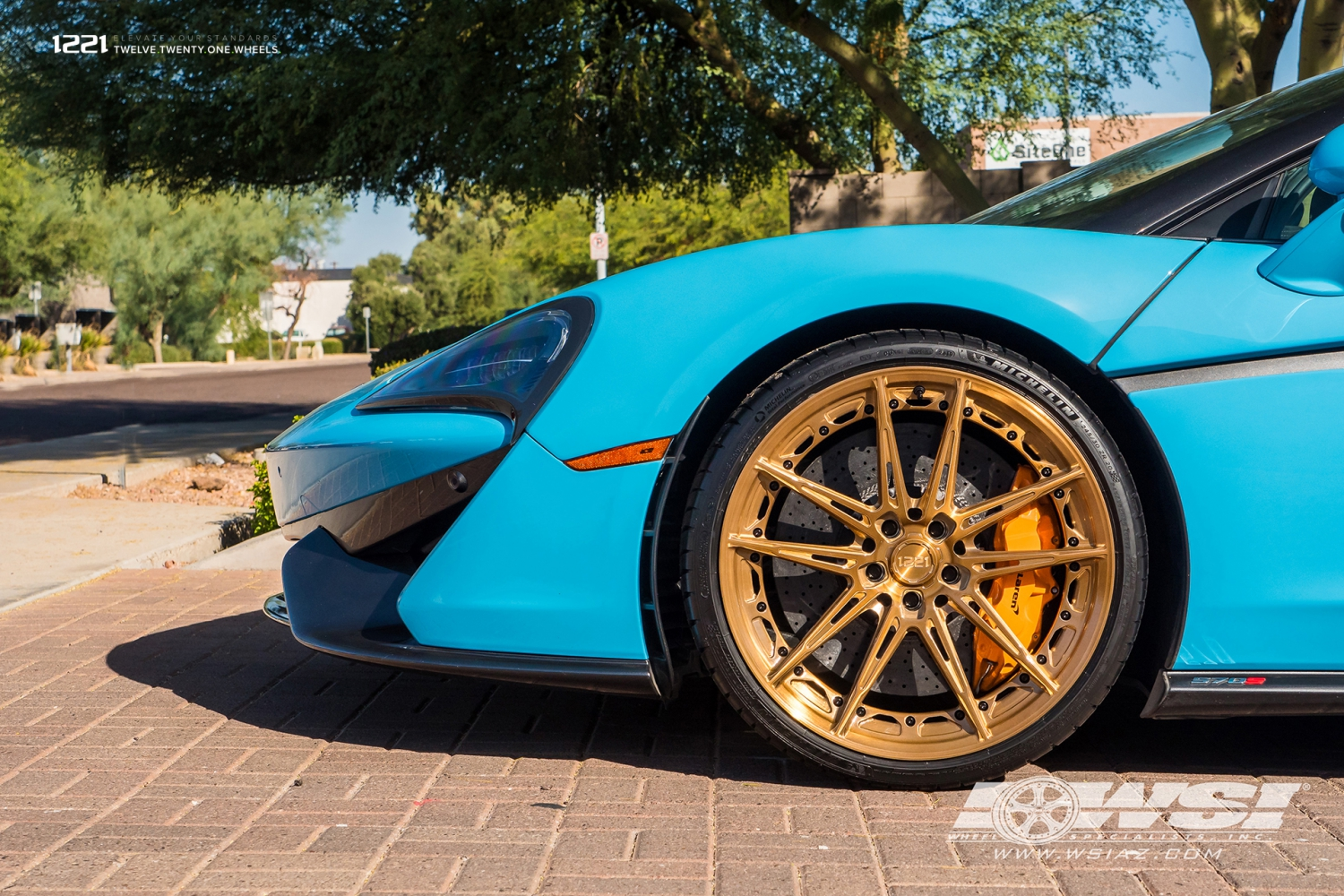 McLaren 570s Super Hyper Car Forged Concave Wheels