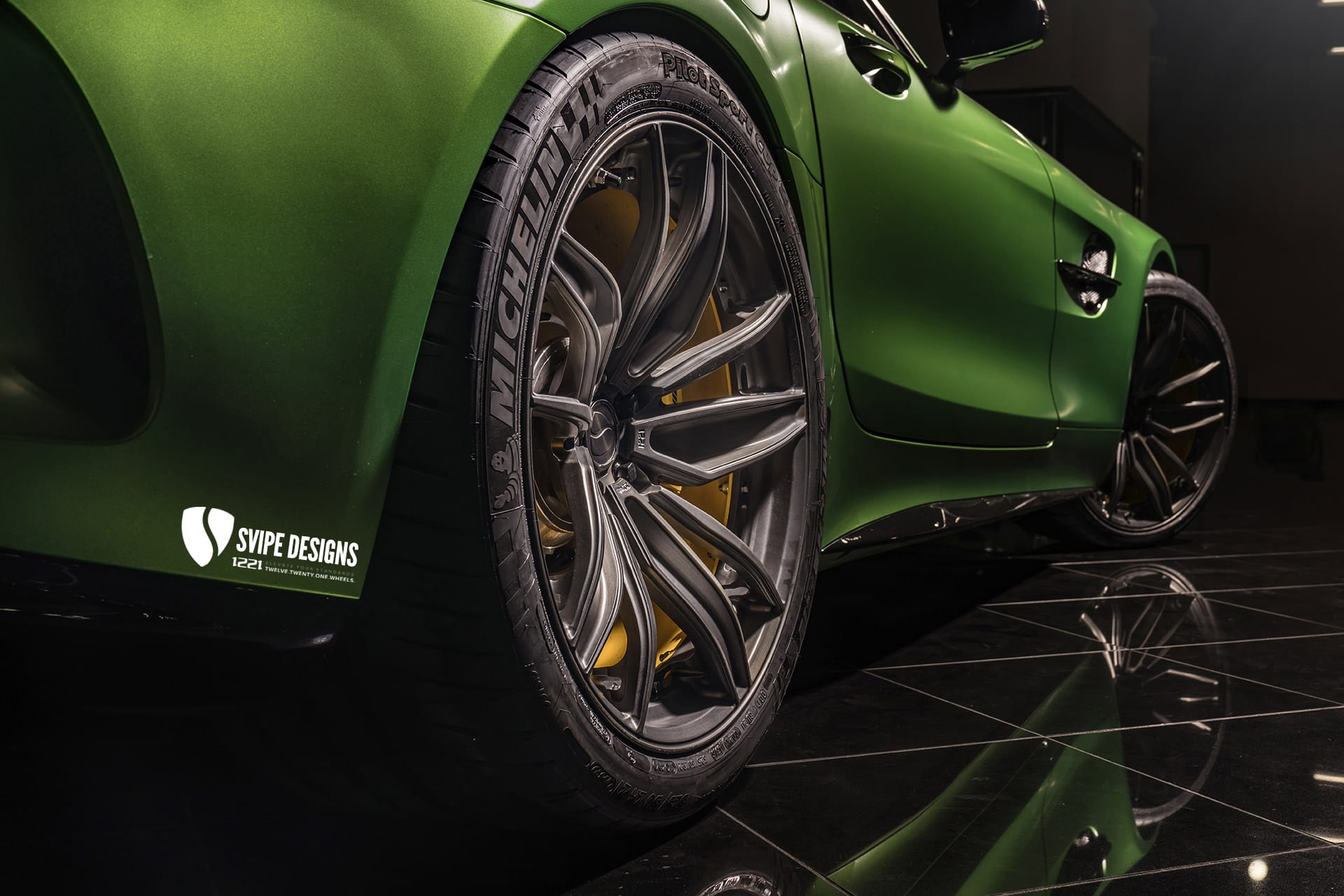 Mercedes AMG GTR Coupe Concave