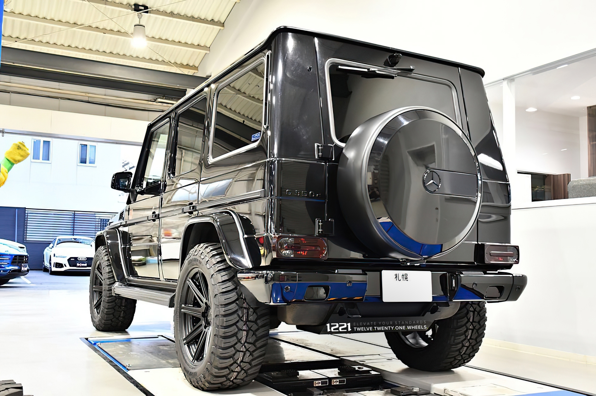 Mercedes Benz G350d Forged Wheels