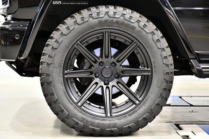 Mercedes Benz G350d Forged Wheels