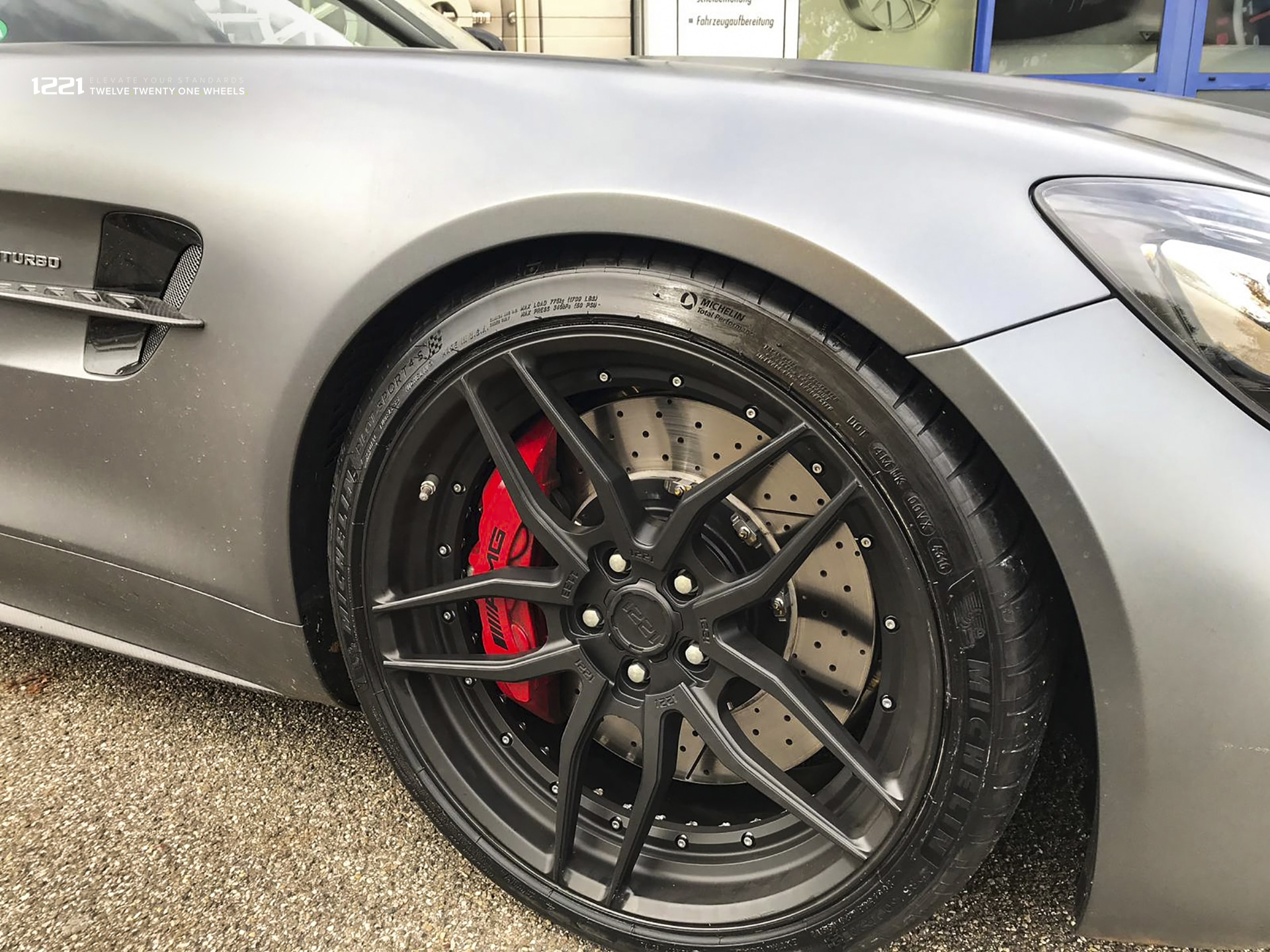 forged 2-piece concave wheels