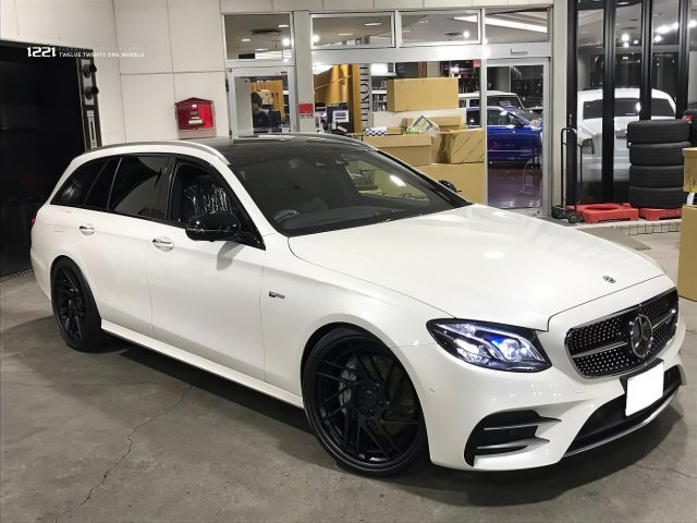 Mercedes-Benz E43 AMG Wagon Forged Concave Wheels