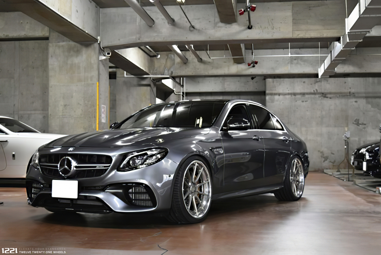 Mercedes Benz E63s Forged Modular Concave Wheels