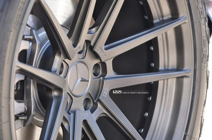 Mercedes Benz G550 Forged Modular Concave Wheels