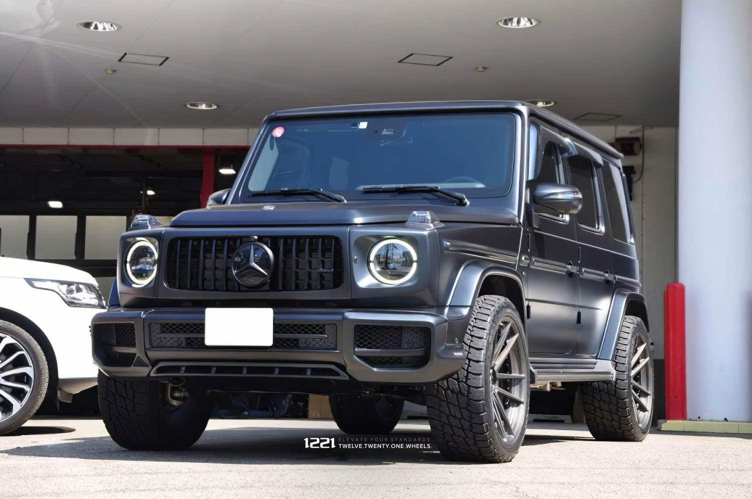 Mercedes Benz G550 Forged Modular Concave Wheels