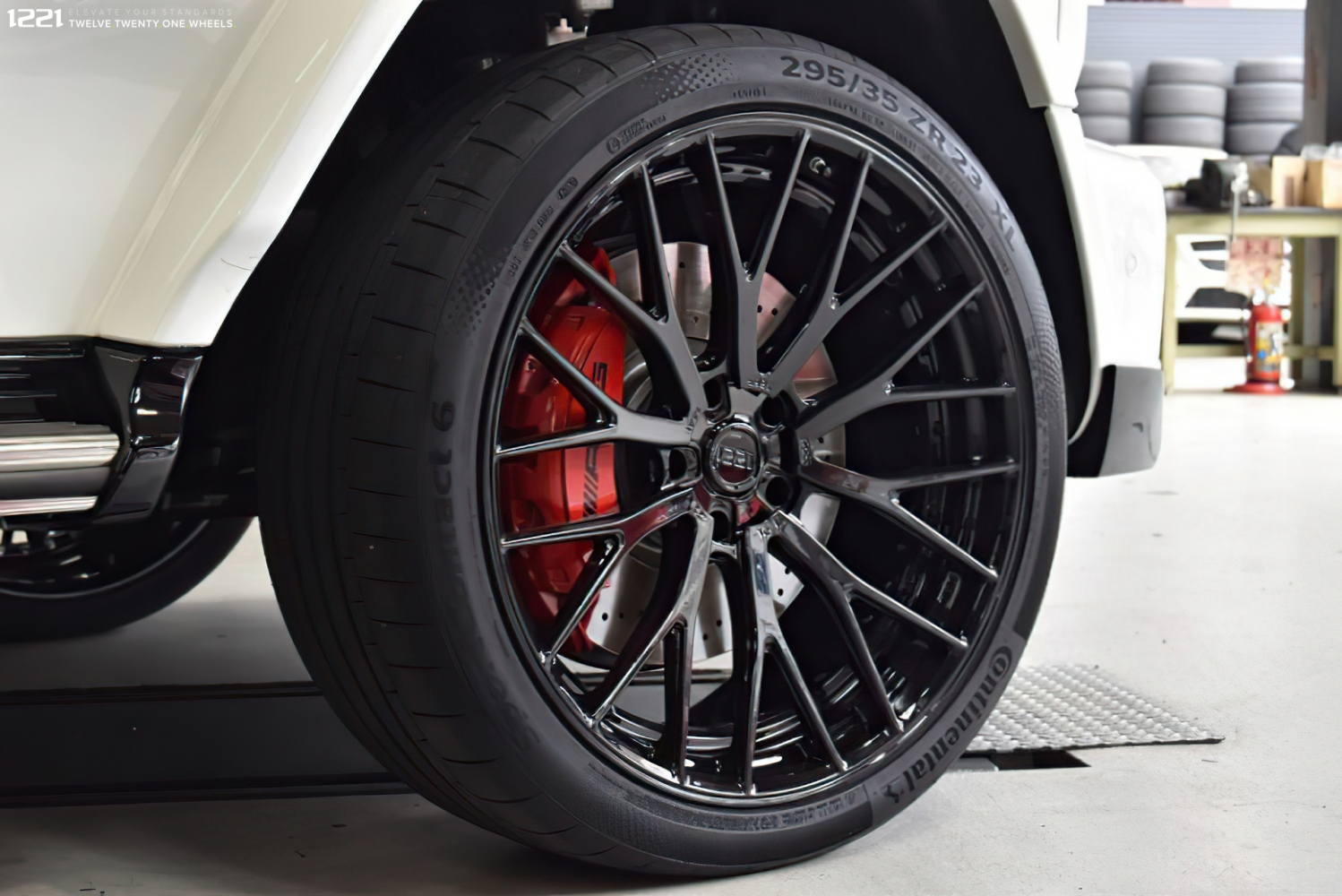 Mercedes G63 Forged Modular Concave Wheels