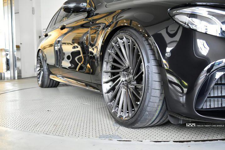 Mercedes Benz E63s Wagon Forged Modular Concave Wheels