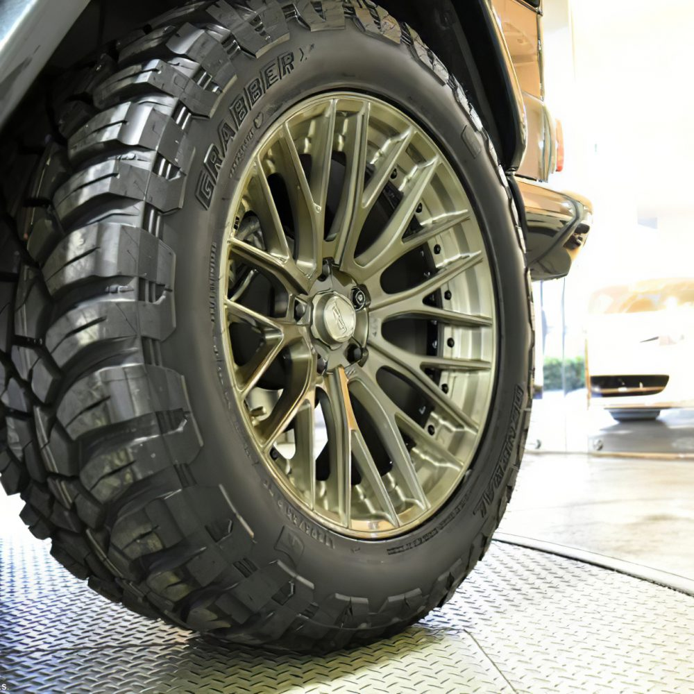 Mercedes Benz G350d Forged Modular Concave Wheels
