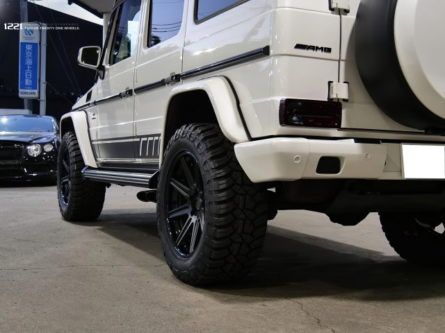 Mercedes G63 Forged Modular Wheels