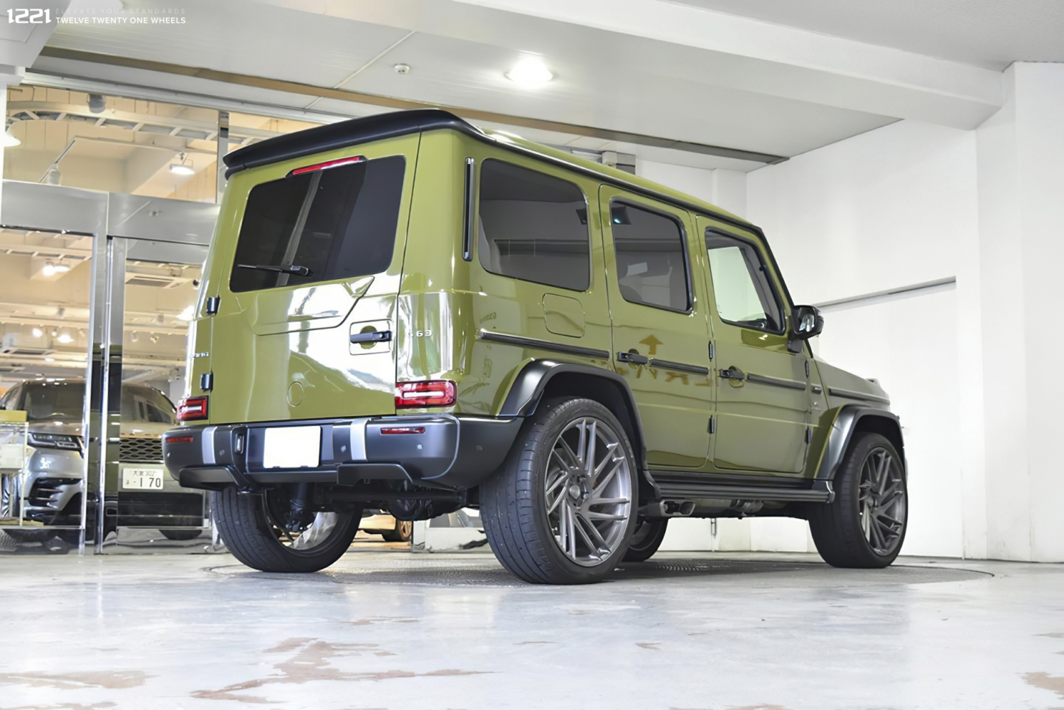 Mercedes G63 Forged Rotational Wheels