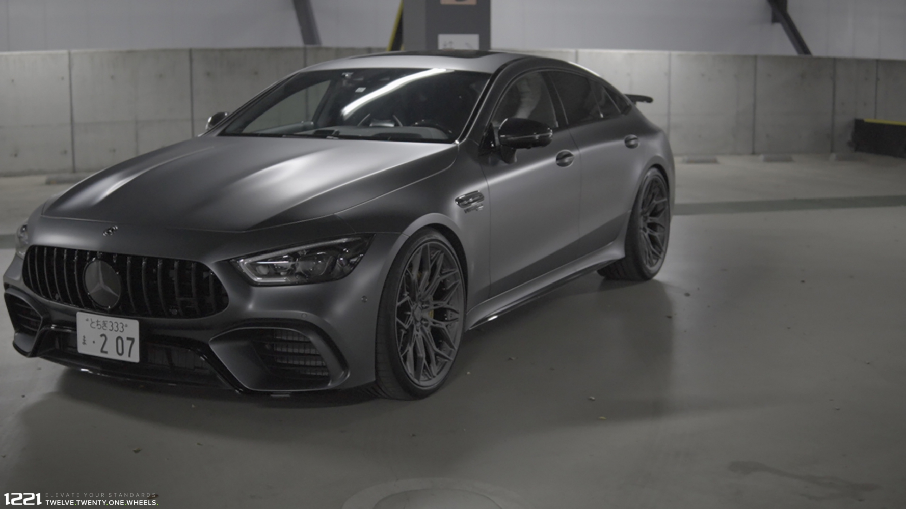 Mercedes Benz GT63s AMG Forged Wheels