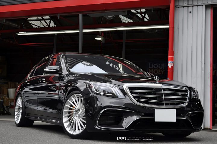 Mercedes Benz S63 Forged Modular Concave Wheels