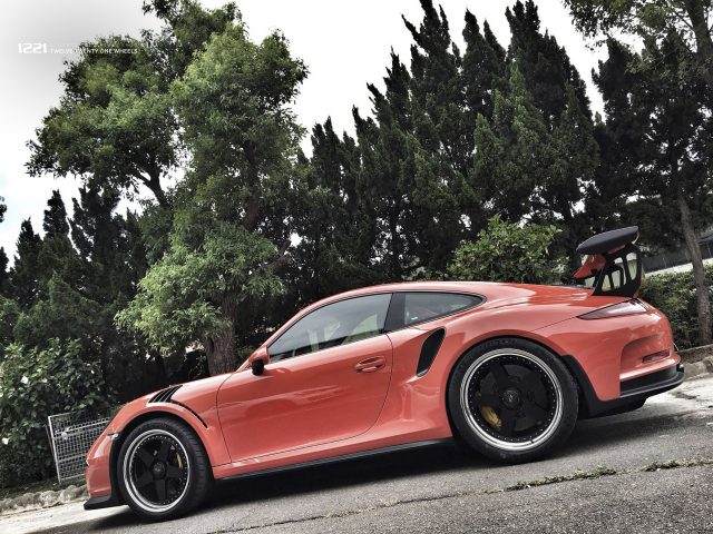 Porsche Carrera 911 GT3 RS forged concave wheels