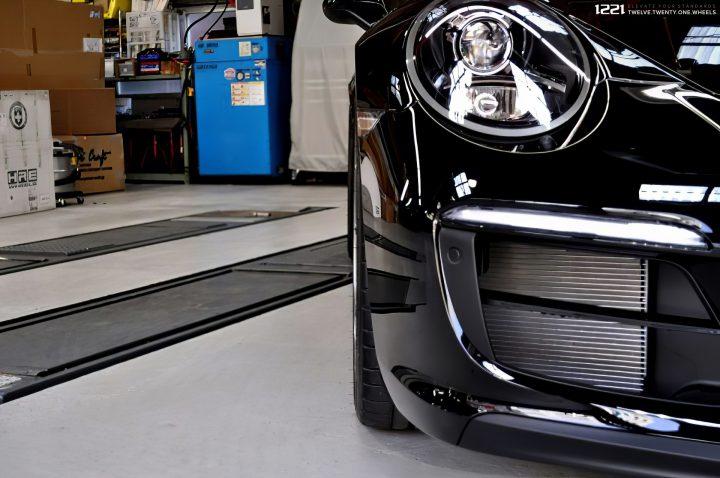 Porsche 911 Turbo S Centerlock Forged Modular Concave Wheels