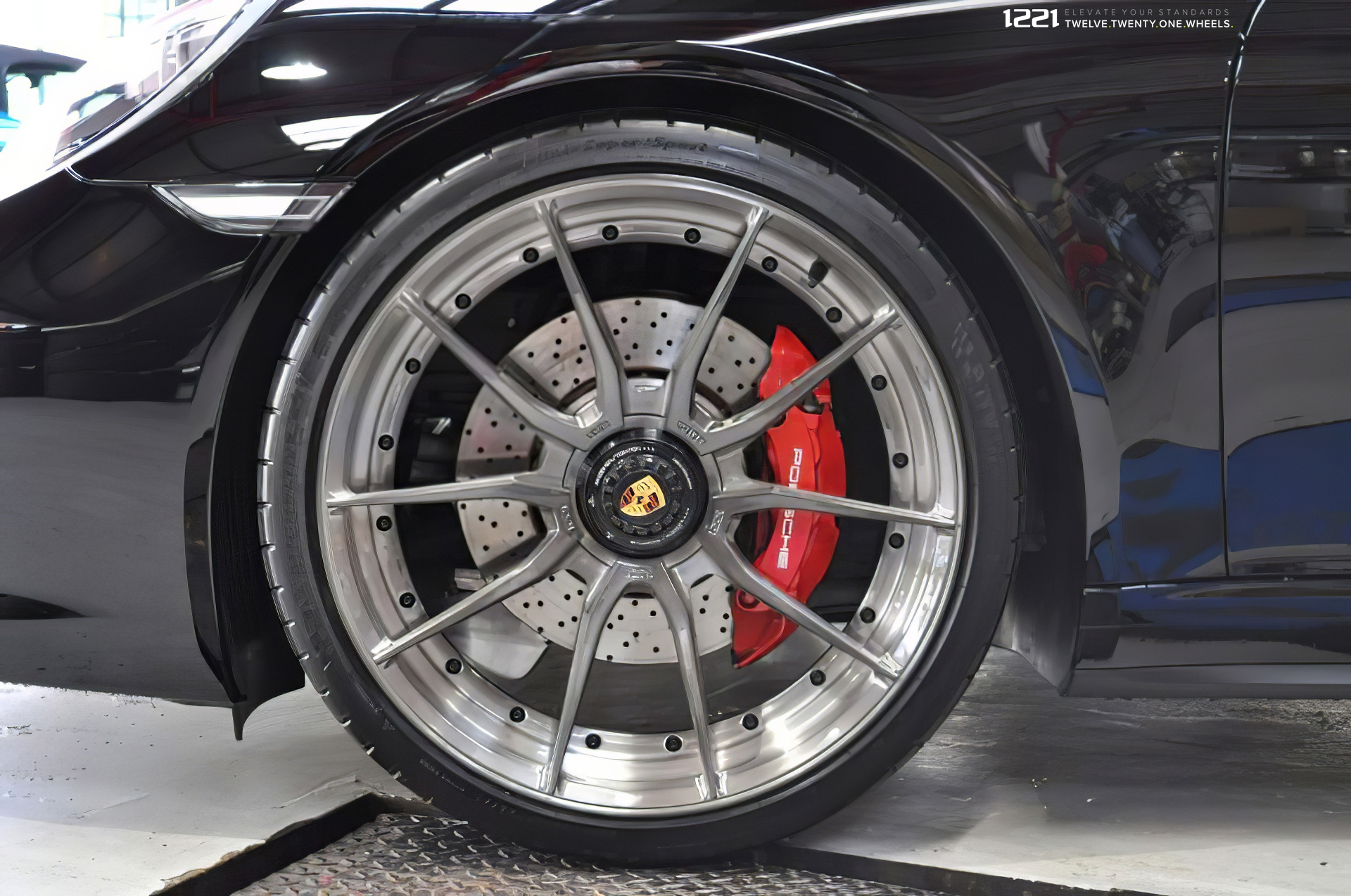 Porsche 911 Turbo S Centerlock Forged Modular Concave Wheels