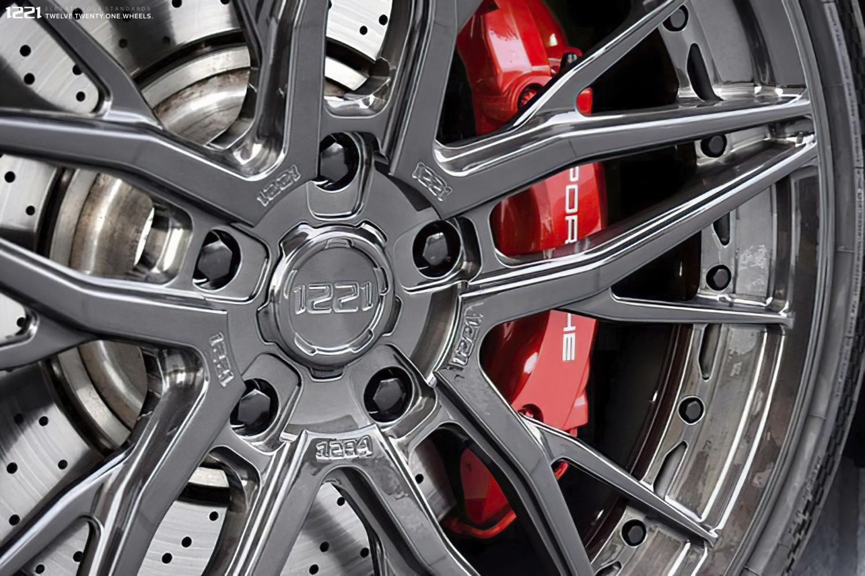Porsche Turbo S Forged Wheels